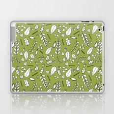 Scandi Leaves Laptop & iPad Skin