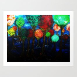 All The Possibilities Art Print