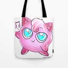 The cuteness of Jigglypuff Tote Bag