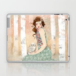Mademoiselle Snow Laptop & iPad Skin