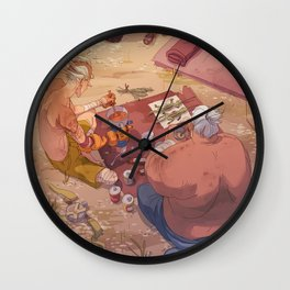 Dinner Time Wall Clock
