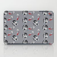 psycho iPad Cases featuring Psycho by mothermary