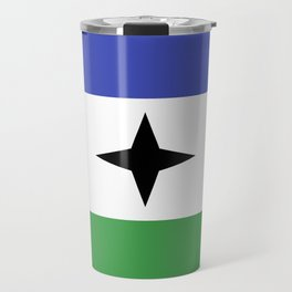 Bubi Bantu people ethnic flag cameroon africa Travel Mug