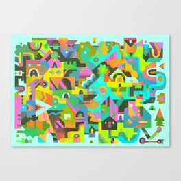 Neighbourhood Canvas Print