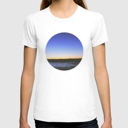 Winter Sunset Lake T-shirt
