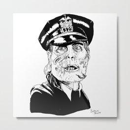 Maniac cop Metal Print