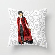 Janelle Monae Throw Pillow