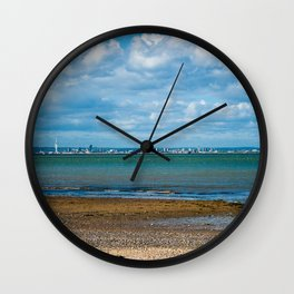 Portsmouth from the Island Wall Clock