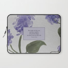 You make me love you...Theodore Finch. All The Bright Places. Laptop Sleeve