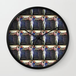 declaration universelle des droits de l'homme (1789) -Declaration of the Rights of the Man Wall Clock
