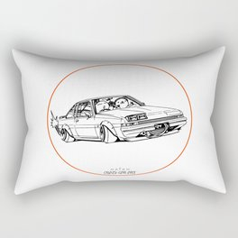 Crazy Car Art 0220 Rectangular Pillow