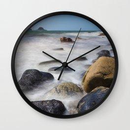 Cot Valley Beach Wall Clock
