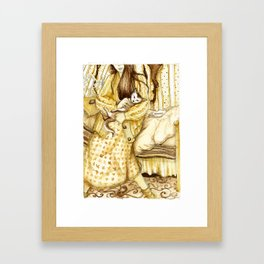 """""""Her New Life""""  Framed Art Print"""