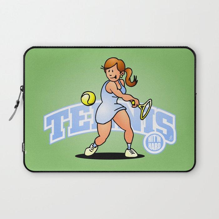 Tennis, Hit'm hard Laptop Sleeve