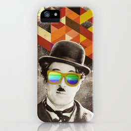 Public Figures Collection - Chaplin iPhone Case