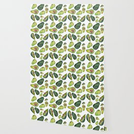 Avocado Slices Wallpaper