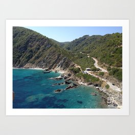 "Skopelos ""greek island""!!!!!!! Art Print"