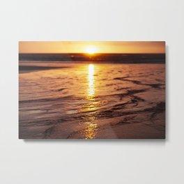 West Coast Sunset Metal Print