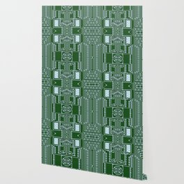 Computer Geek Circuit Board Pattern Wallpaper