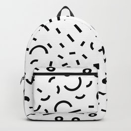 Favorite shape abstract Backpack