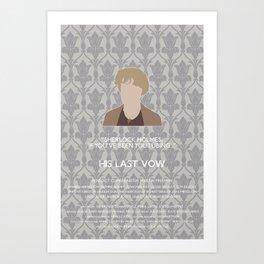 His Last Vow - Mrs. Hudson Art Print