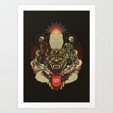 Kāla Art Print