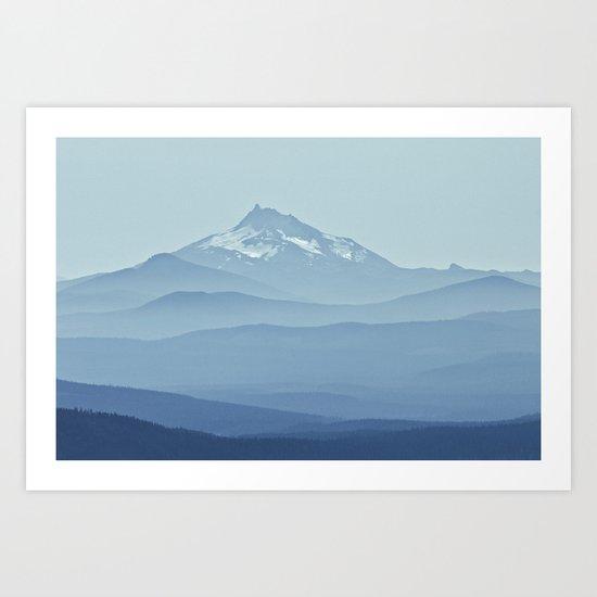 Cascadia Art Print