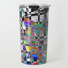 Mosaic Mountain Travel Mug