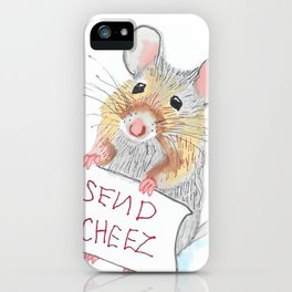 Send Cheese iPhone Case