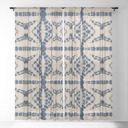 Spider Shibori Sheer Curtain