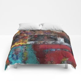Abstract Key West Comforters