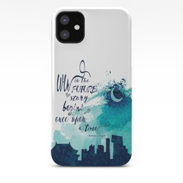 The Lunar Chronicles Quote iPhone Case