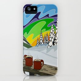At Home in the Woods iPhone Case