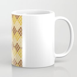 Indie Spice: Golden Cross Hatch Coffee Mug