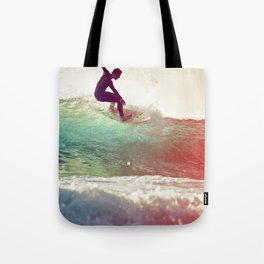 Danse avec les vagues Tote Bag
