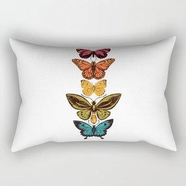 Butterfly Spectrum Rectangular Pillow