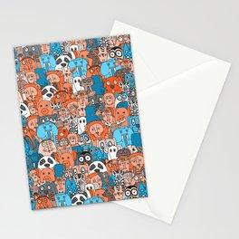 plushies retro Stationery Cards