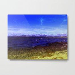 Colourful Beach Metal Print