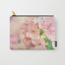 Candy Pink, Lime Green, Vanilla Cream Carry-All Pouch