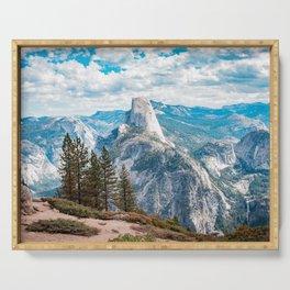 Half Dome - Yosemite California Serving Tray