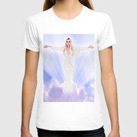 lindsay lohan T-shirts featuring Lindsay Lohan - Jesus Parody by hunnydoll