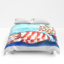 Kitty Siesta Comforters