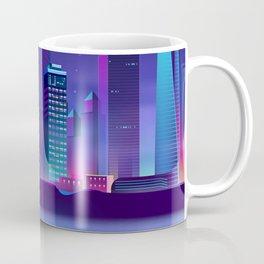 Synthwave Neon City #4 Coffee Mug