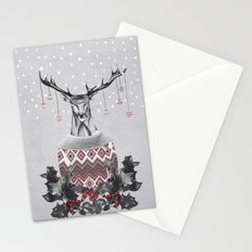 CHRISTMAS DEER (by Nika & Mariam) Stationery Cards