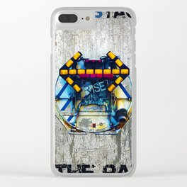 Rise The Obstacle Is The Road Clear iPhone Case