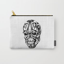Tribal Skull Carry-All Pouch