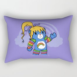 Rainbow Bearite Rectangular Pillow