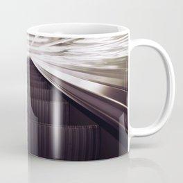 Escalator in motion Coffee Mug