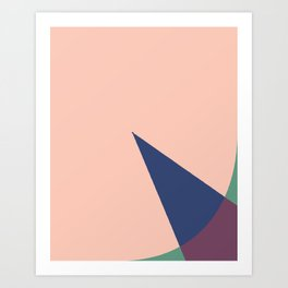 Cacho Shapes XLVI Art Print