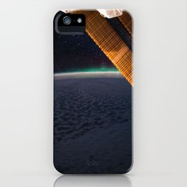 139. Starry Night and Aurora iPhone Case